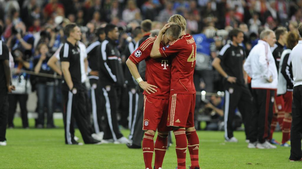 CL-FINALE - FC BAYERN München VS CHELSEA FC London - Bastian Schweinsteiger, Anatoliy Tymoshchuk