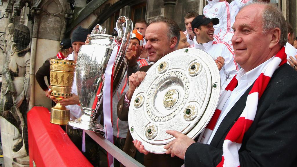 Bayern feiert Triple