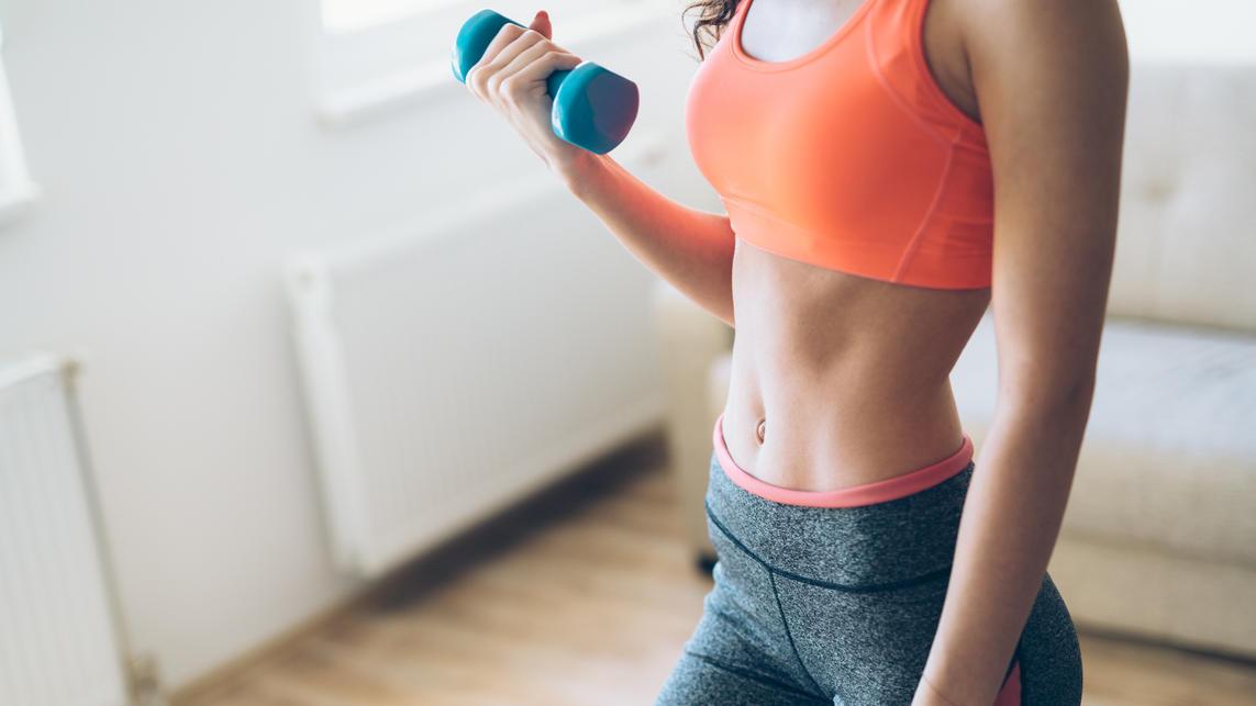 Wer zuhause trainiert, sollte die besten Fitnessgeräte dafür benutzen