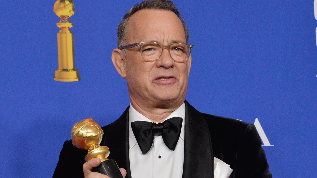 """Tom Hanks wurde bei den Golden Globes 2020 mit dem  """"Cecil B.deMille Award"""" ausgezeichnet."""