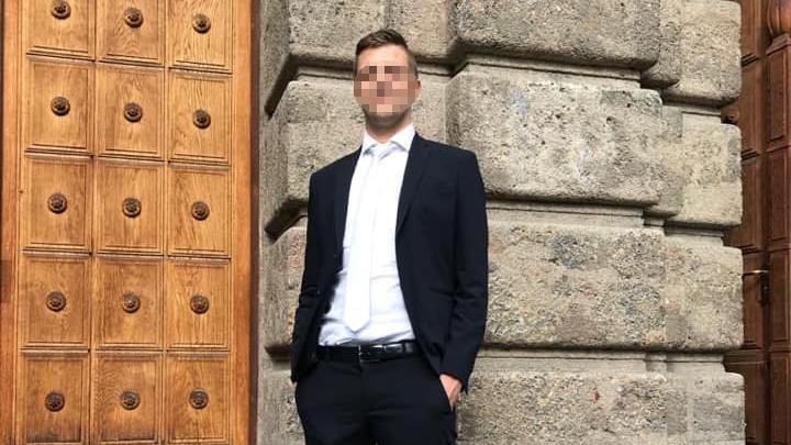 Stefan L. raste in Südtirol betrunken in eine Gruppe junger Menschen.