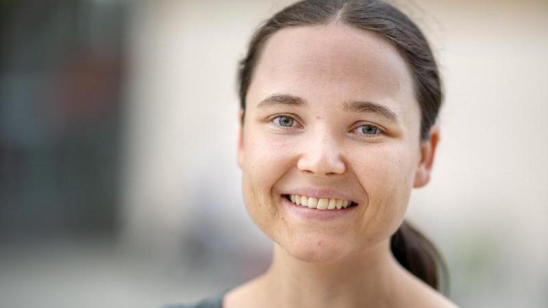 Marie Schäffer, Politikerin von Bündnis 90/Die Grünen. Foto: Monika Skolimowska/zb/ZB/Archivbild
