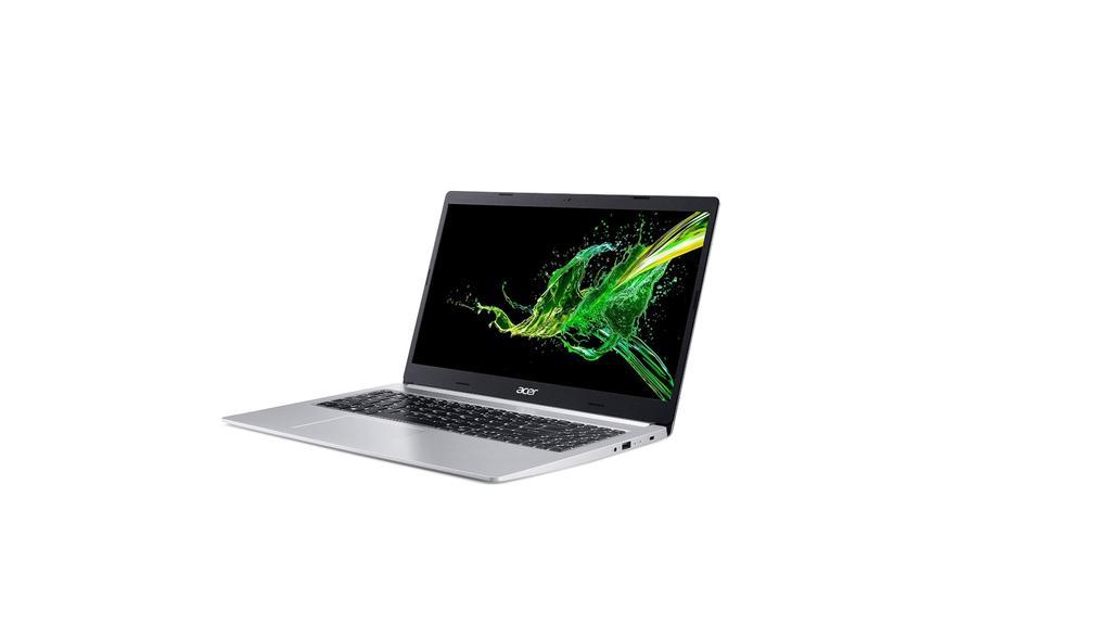 Das Acer-Notebook hat viel Dampf.