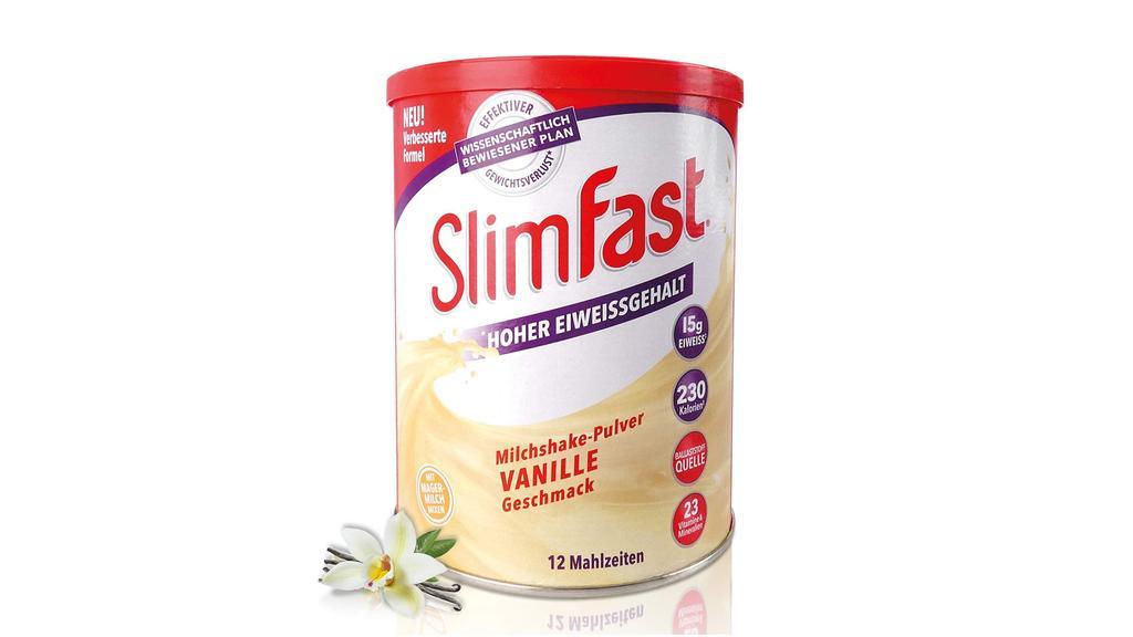 Slimfast Vanille im Test.