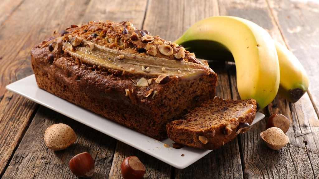 Banana bread - the perfect breakfast!