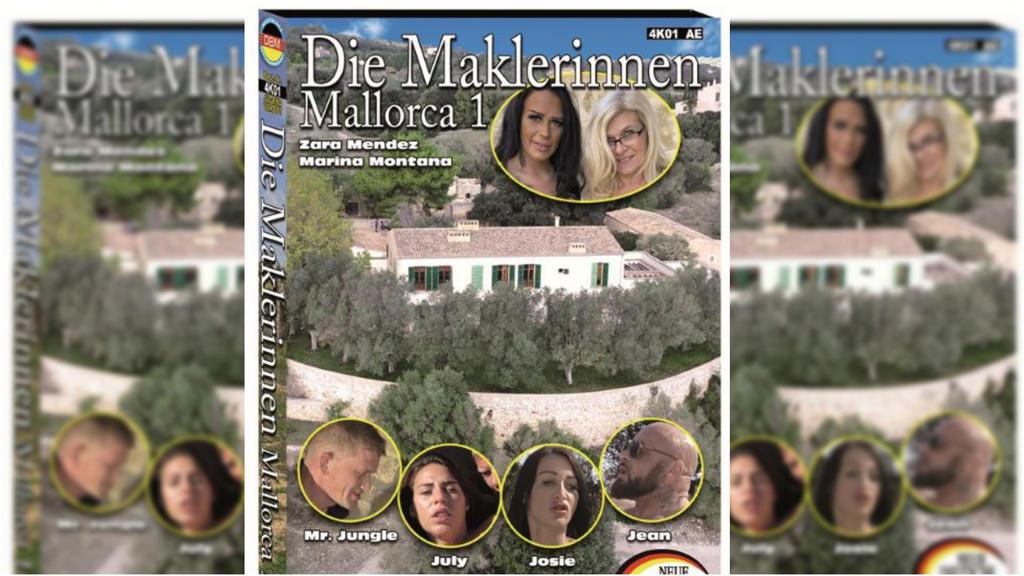 """Das Cover des Pornos """"Die Maklerinnen - Mallorca 1"""""""