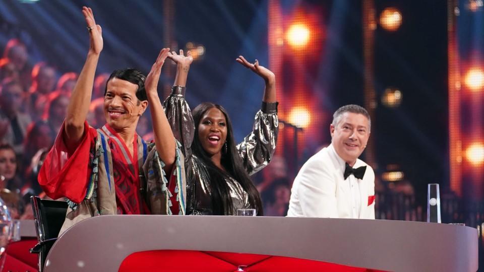 """Die """"Let's Dance""""-Jury Jorge Gonzlez Motsi Mabuse und Joachim Llambi ist auch 2020 wieder am Start."""