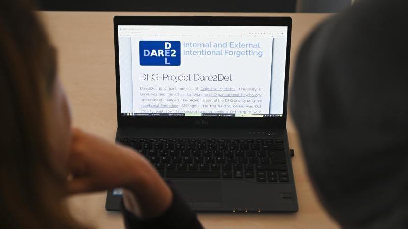 """Mit """"Dare2Del"""" haben Forscher ein Programm entwickelt, das Ordnung auf dem Computer schaffen soll. Foto: Nicolas Armer/dpa"""