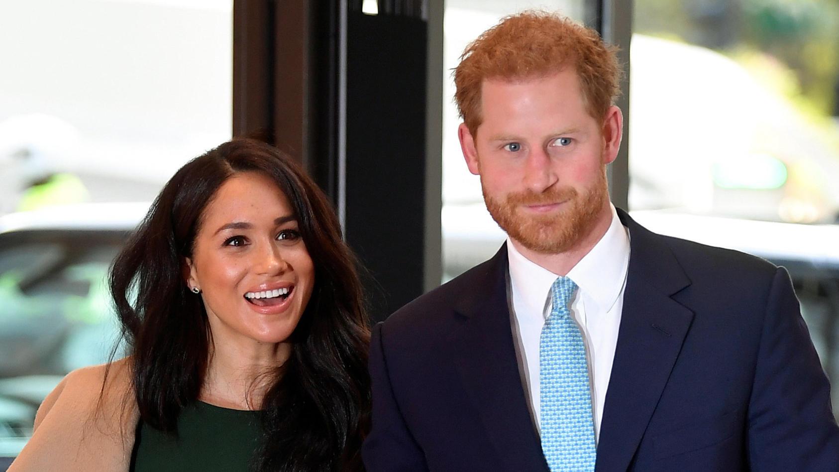 Prinz Harry und Herzogin Meghan wagen einen beruflichen Neustart.