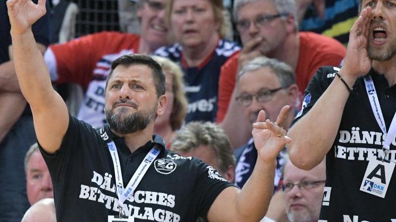 Trainer Ljubomir Vranjes will wieder in die Handball-Bundesliga. Foto: Axel Heimken/dpa