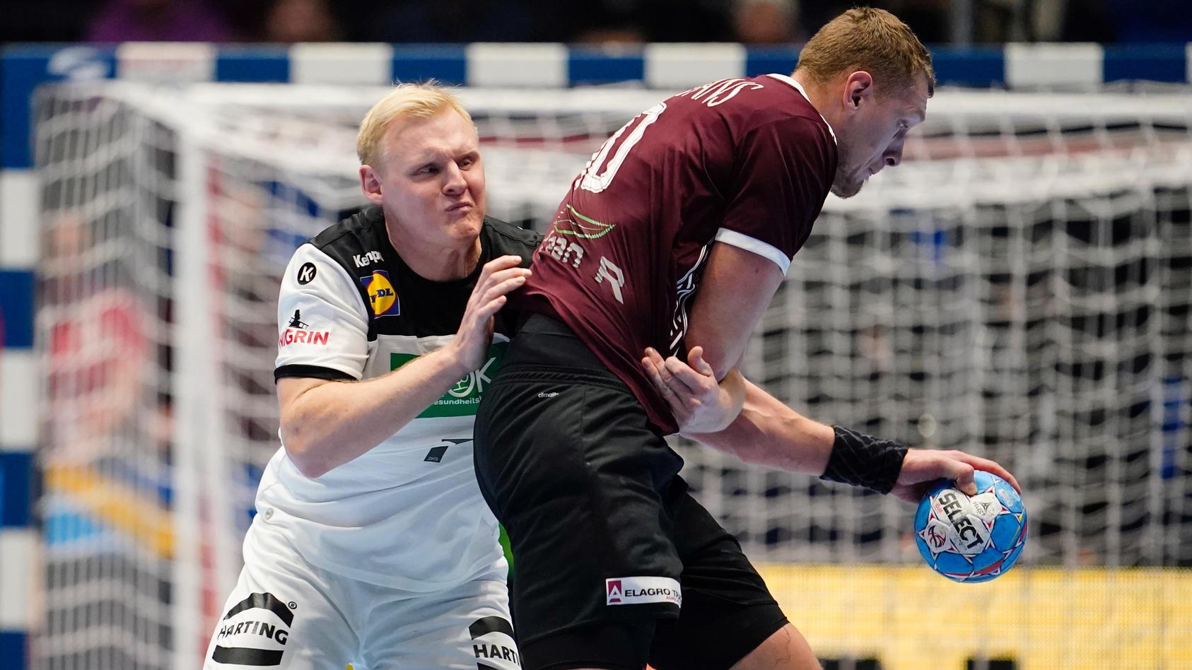 2020 EHF European Men's Handball Championship - Latvia v Germany