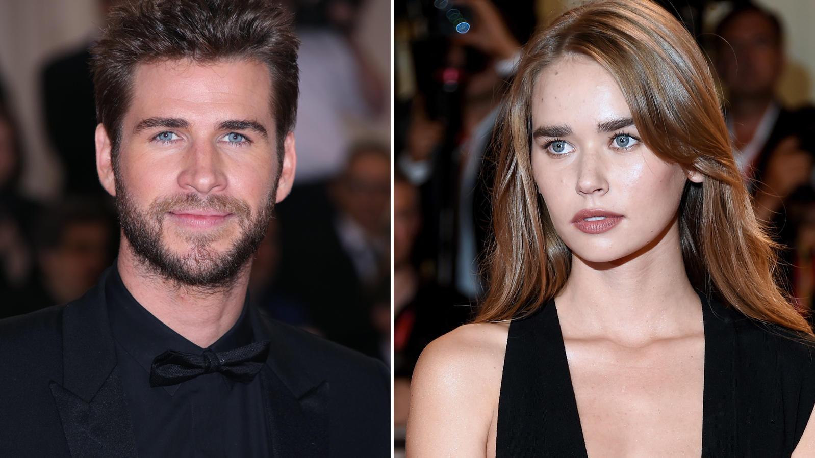 Liam Hemsworth und Gabriella Brooks haben jetzt zum ersten Mal öffentlich Zärtlichkeiten ausgetauscht.