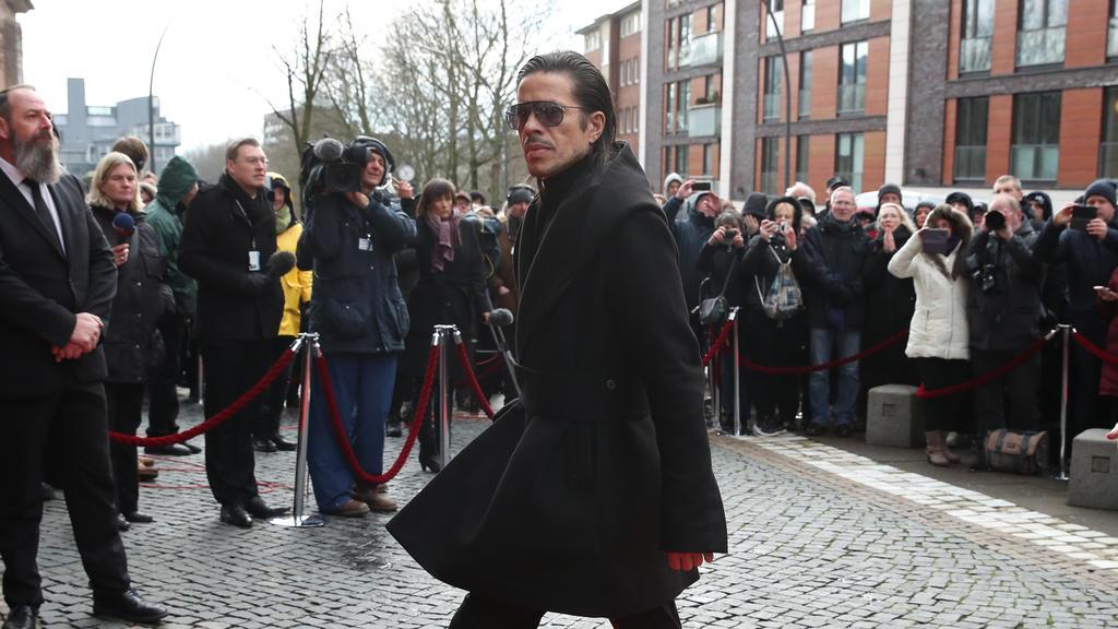 Jorge Gonzalez bei der Trauerfeier für Jan Fedder im Januar 2020 in Hamburg.
