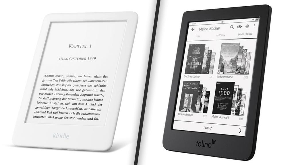 Kindle und Tolino Page 2 E-Reader-Test
