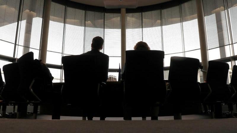 Zeugen vor einer öffentlichen Sitzung des Amri-Untersuchungsausschusses des Bundestags. Foto: Wolfgang Kumm/dpa/Archivbild