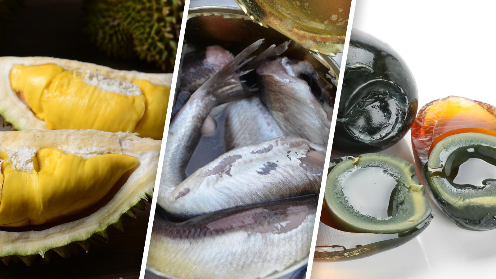 Lebensmittel wie diese gelten in bestimmten Ländern als Delikatessen.
