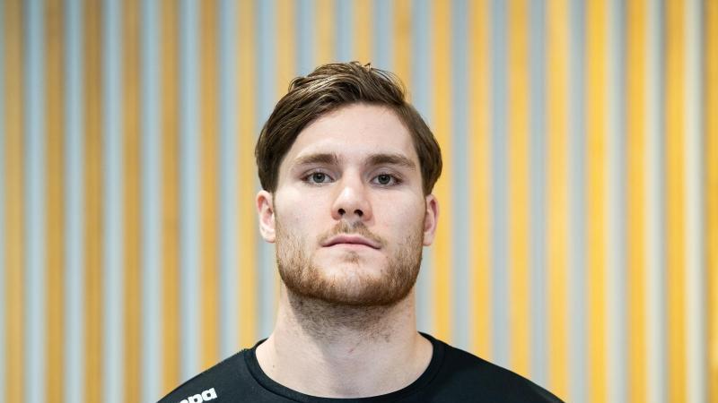 Johannes Golla soll die Abwehr der deutschen Handballer verstärken. Foto: Andreas Arnold/dpa