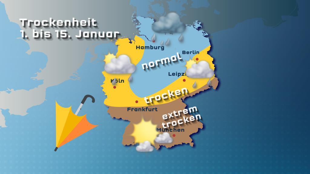 Trockenheit Januar