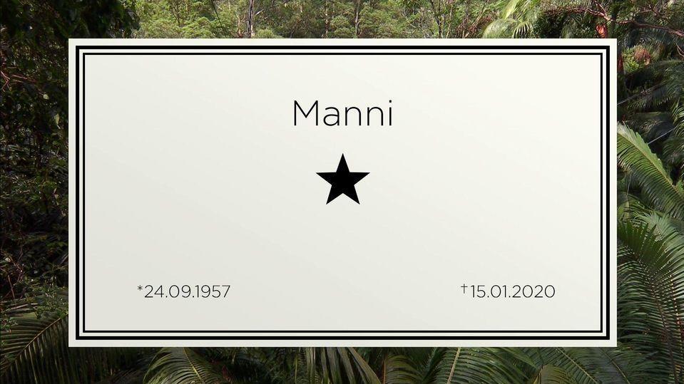In Gedenken an Kameramann Manni