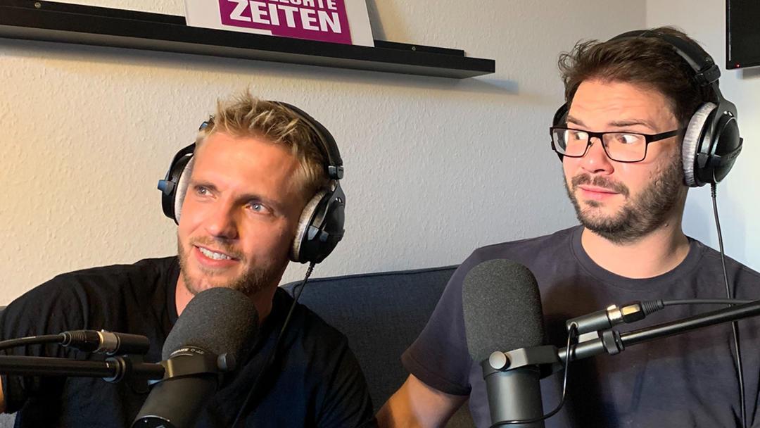 Niklas und Thomas beim GZSZ-Podcast