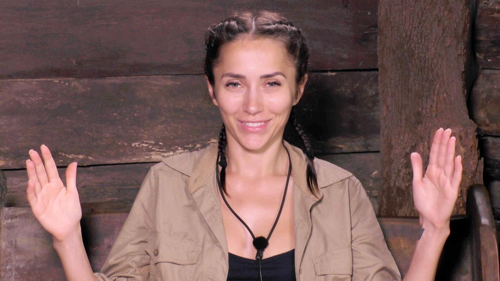 Zumindest im Dschungelcamp war Anastasiya Avilova meist bekleidet.