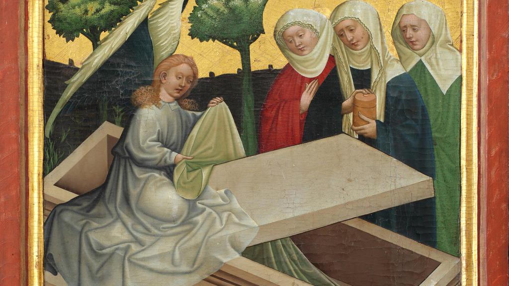 Jesus vom Tode auferstanden