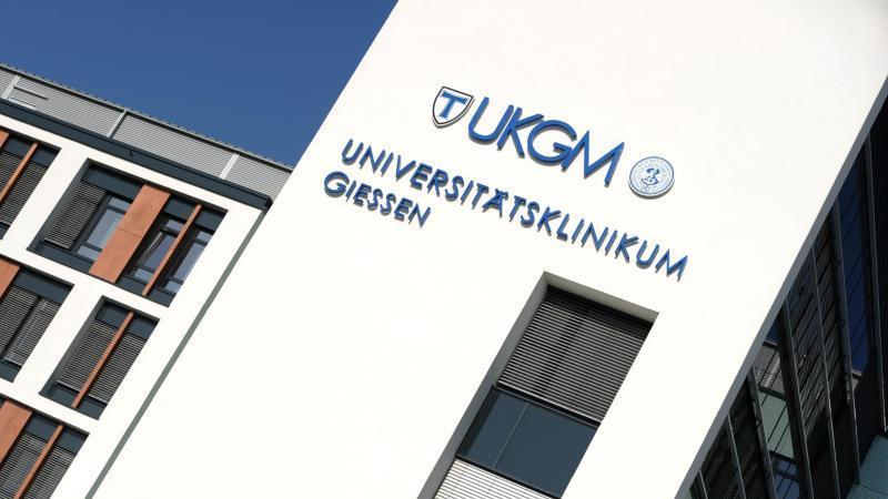 Der Neubau des Universitätsklinikums in Gießen (Hessen). Foto: Arne Dedert/dpa/Archivbild