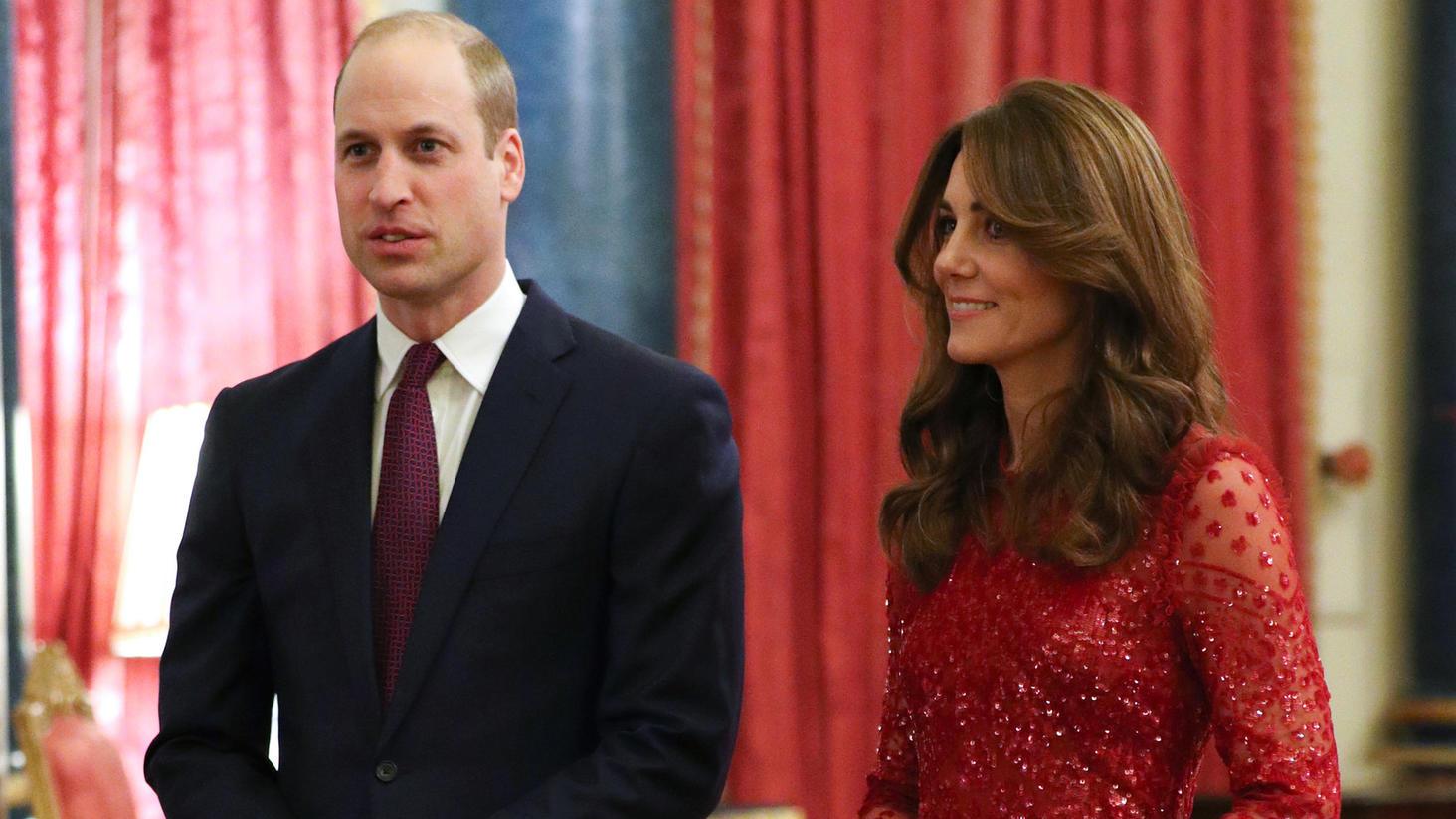 William und Kate beim Afrika-Gipfel in London