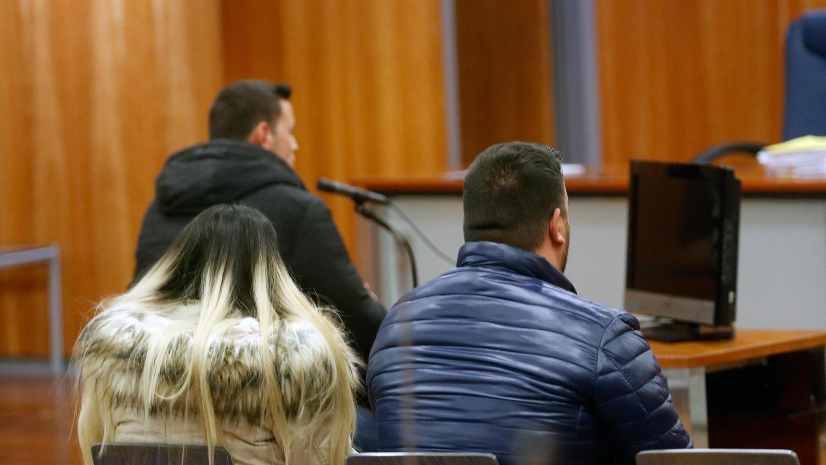 David Serrano (im Hintergrund links) wurde nach Julens Tod zu einer Bewährungsstrafe und Schadenersatzleistungen verurteilt.