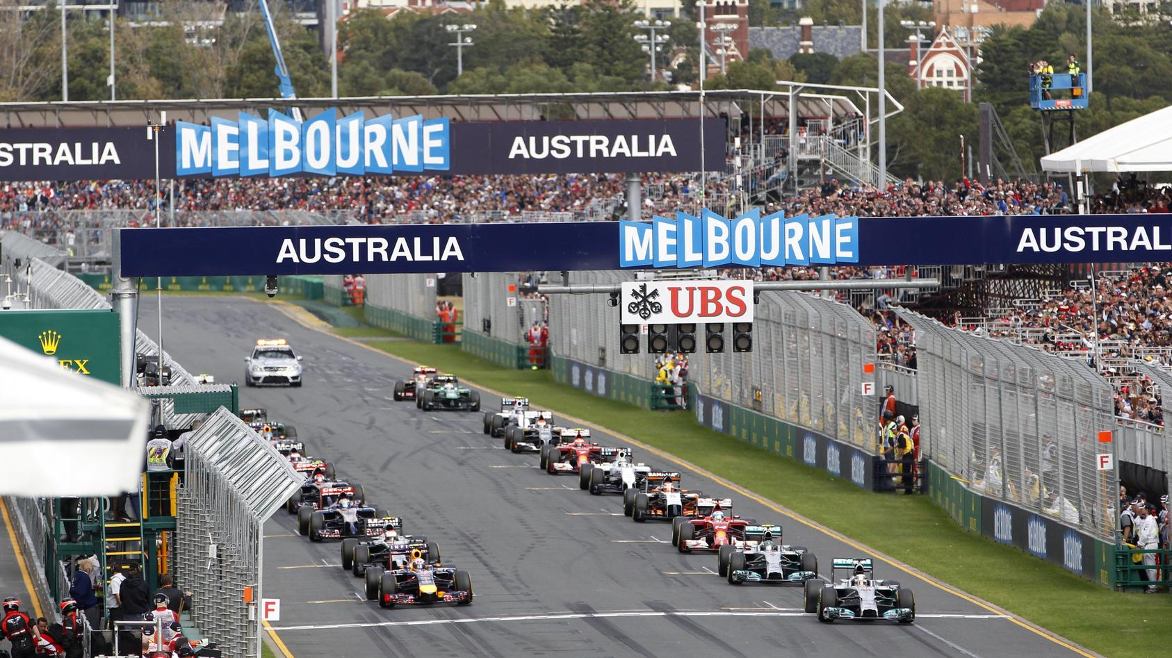 Motorsports FIA Formula One World Championship 2014 Grand Prix of Australia 44 Lewis Hamilton GB