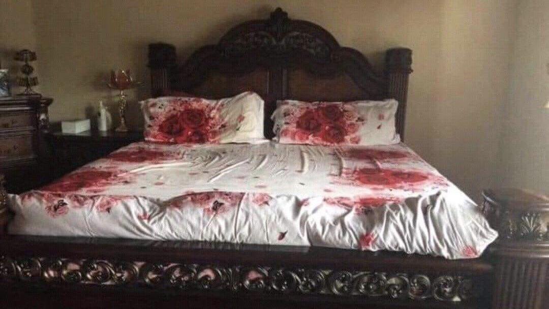 Schlafzimmer oder Tatort?