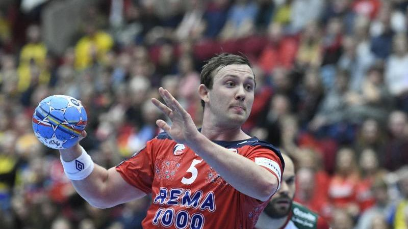 Superstar Sander Sagosen soll die Norweger zum EM-Titel führen. Foto: Johan Nilsson/TT NEWS AGENCY/dpa