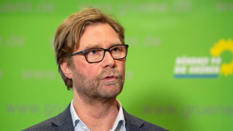 Dirk Adams, Fraktionsvorsitzender Bündnis 90/Die Grünen. Foto: Michael Reichel/dpa