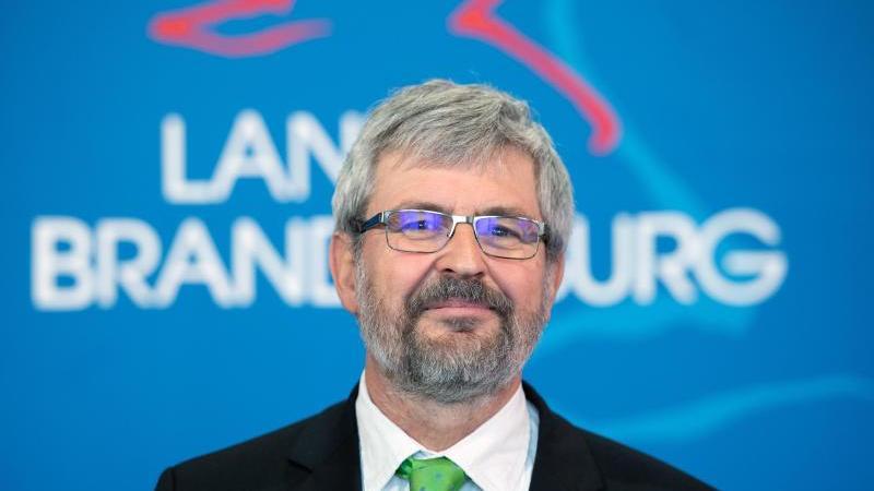 Axel Vogel (Bündnis 90/Die Grünen), Minister für Landwirtschaft, Umwelt und Klima von Brandenburg. Foto: Soeren Stache/dpa-Zentralbild/dpa