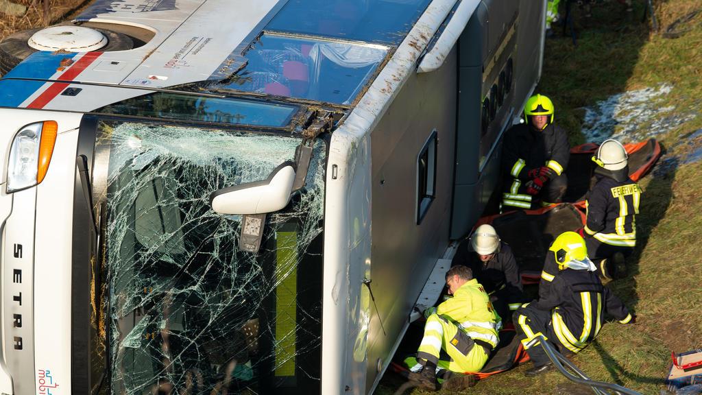 Schulbusunfall in Thüringen
