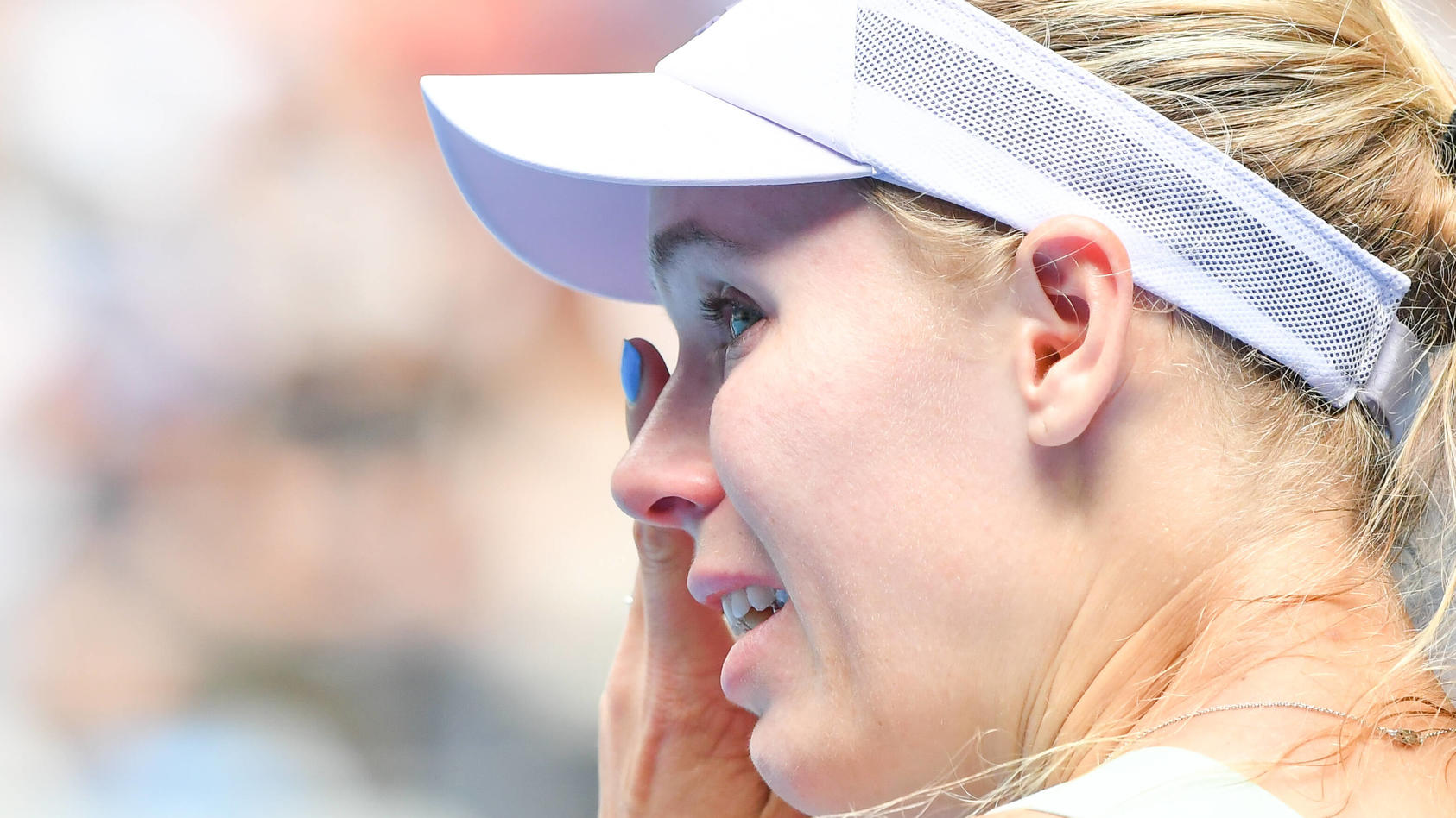 January 24, 2020: CAROLINE WOZNIACKI (DEN) retires from tennis after losing to ONS JABEUR (TUN) on Rod Laver Arena in a