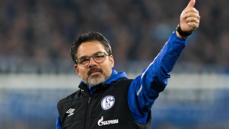 Schalkes Trainer David Wagner. Foto: Bernd Thissen/dpa/Archiv