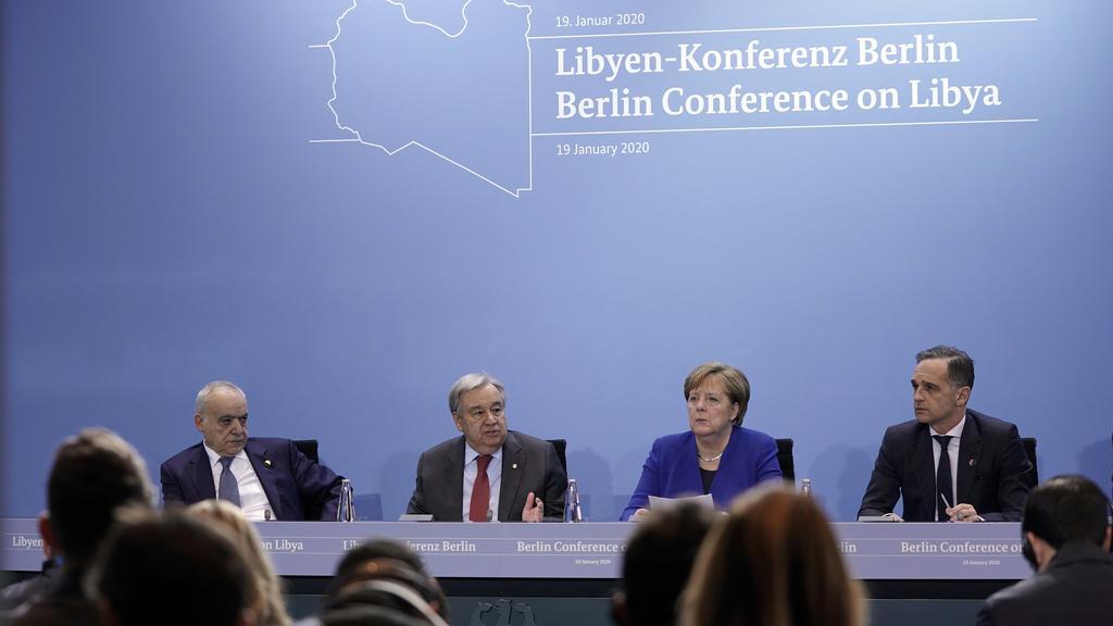 Libyen-Konferenz in Berlin.