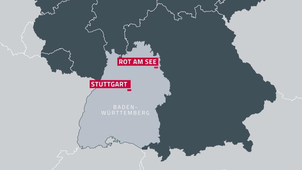 Schüsse in Rot am See (Baden-Württemberg)