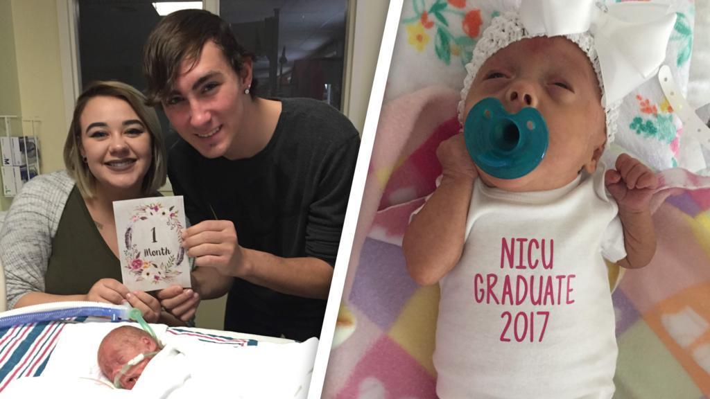 Tori und Tyler sind überglücklich, dass es ihre Tochter Athena geschafft hat.