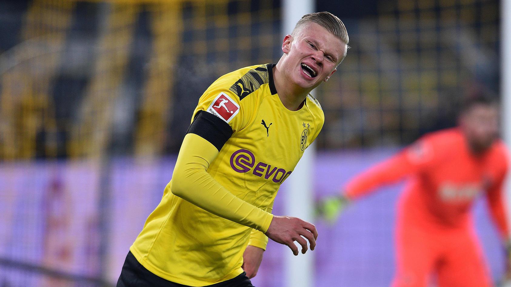 Erling Haaland trifft zum Einstand in Dortmund.