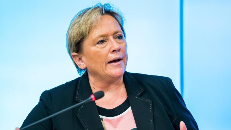 Die Kultusministerin von Baden-Württemberg, Susanne Eisenmann. Foto: Thomas Niedermüller/dpa/Archivbild