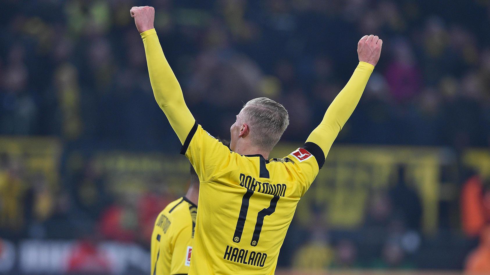 Fußball 1. Bundesliga 19. Spieltag Borussia Dortmund - 1. FC Köln am 24.01.2020 im Signal Iduna Park in Dortmund Torjub