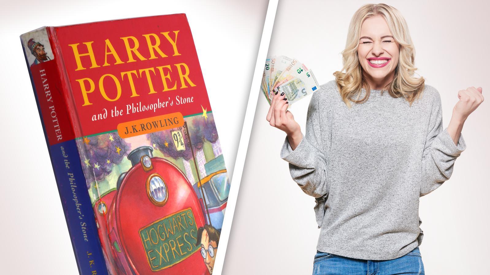 In Ihrem Bücherregal könnte sich ein kleines Vermögen verstecken!