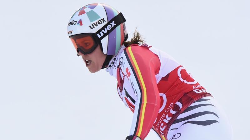 Kam beim Super-G in Bansko nur auf Rang zwölf: Viktoria Rebensburg. Foto: Pier Marco Tacca/AP/dpa