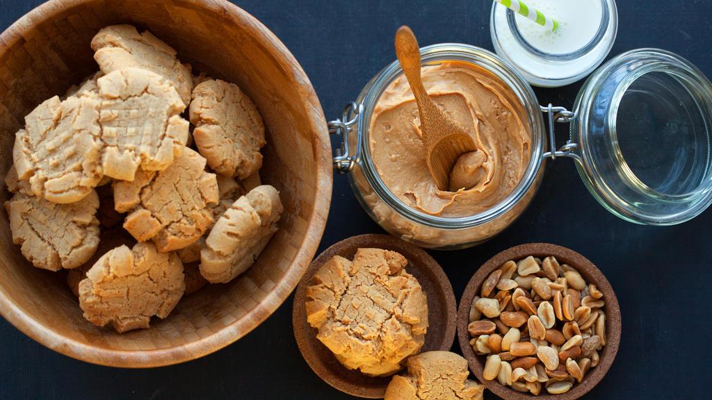 Erdnussbutter-Kekse