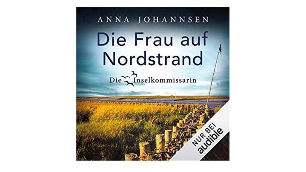Frau auf Nordstrand Cover