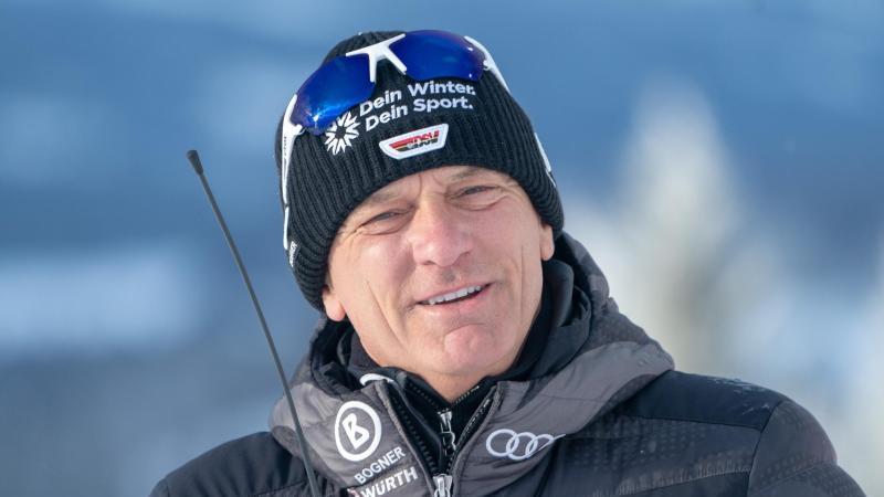 Stellt Deutschlands Ski-Assen den Olympia-Test in China frei: DSV-Alpindirektor Wolfgang Maier. Foto: Michael Kappeler/dpa
