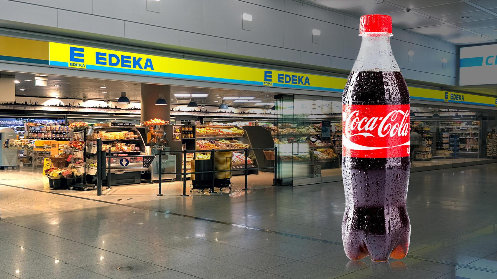 Edeka nimmt Coca-Cola aus dem Sortiment raus.