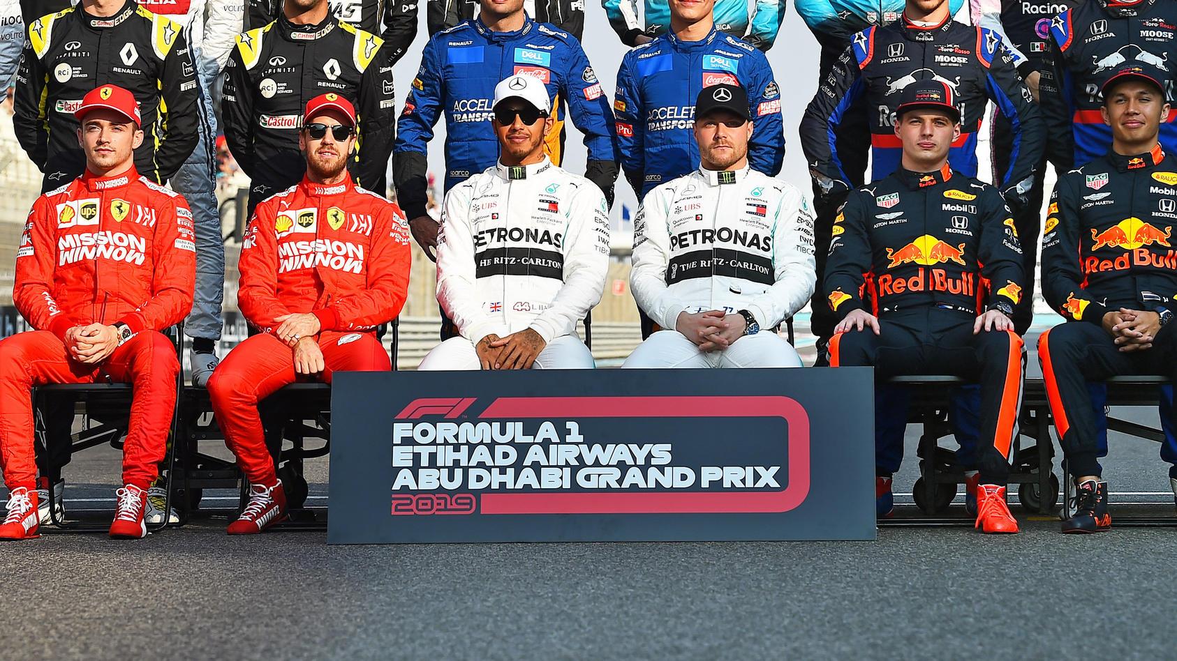 Formel Eins Fahrer